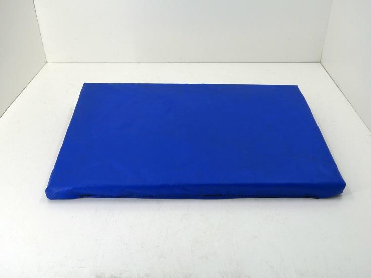 Desinfektionsmatte 600 x 400 x 30 mm, genäht; blau-schwarz