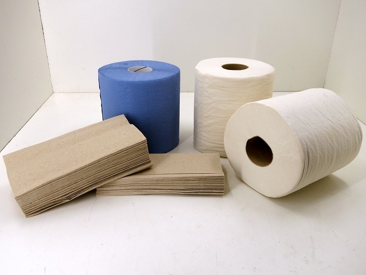 Einwegfaltpapier