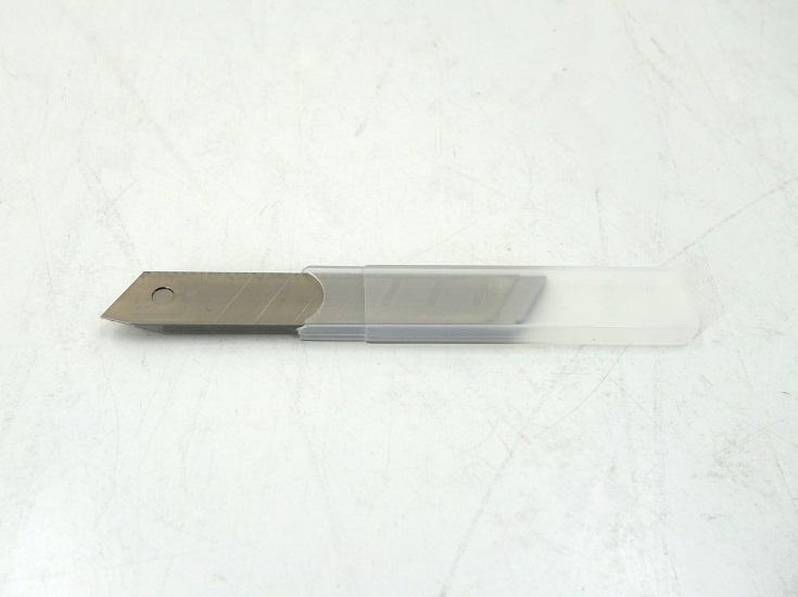 Ersatzklingen für Cuttermesser 18 mm; 10er Box