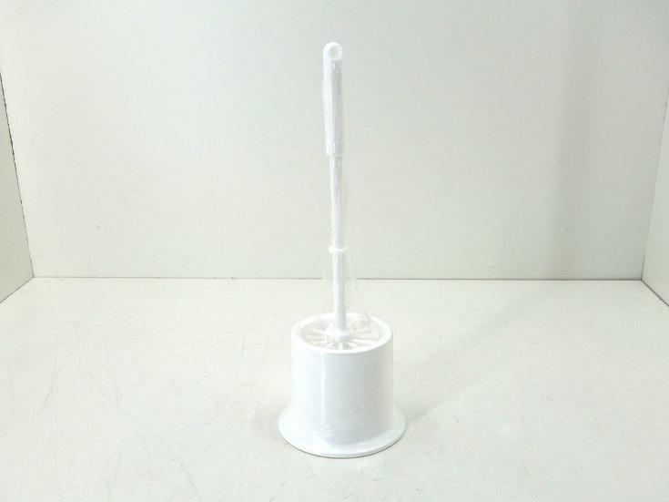 WC-Garnitur/ WC-Bürste, weiß, Kunststoff