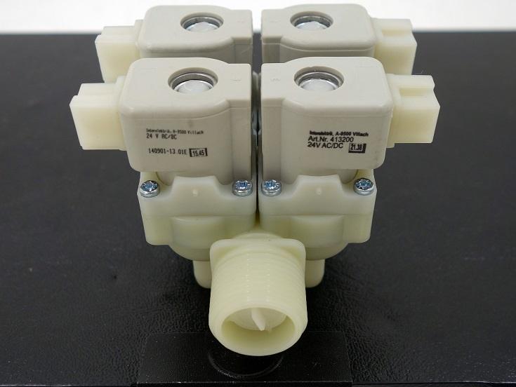 Magnetventil 4-fach 24V AC/DC 3/4