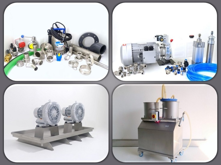 Wasser/ Pneumatik & Hydraulik/ Vakuum/ Lüftungstechnik