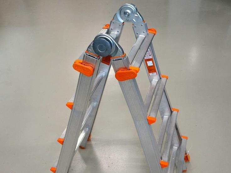 Teleskopleiter layher 4x5 sprossen aws vertriebs und